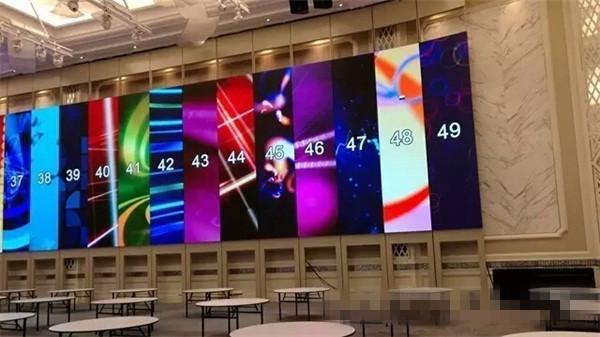 600平米4k可移動室內小間距led顯示屏 驚艷亮相馬來西亞七星級酒店圖片